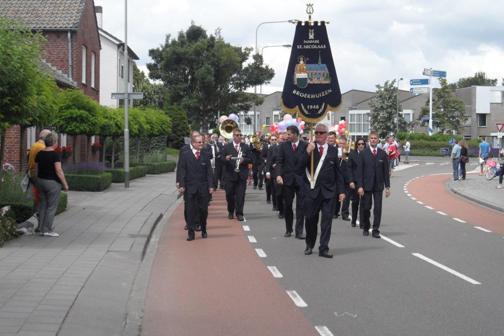 16 september donateursrondgang Fanfare St Nicolaas