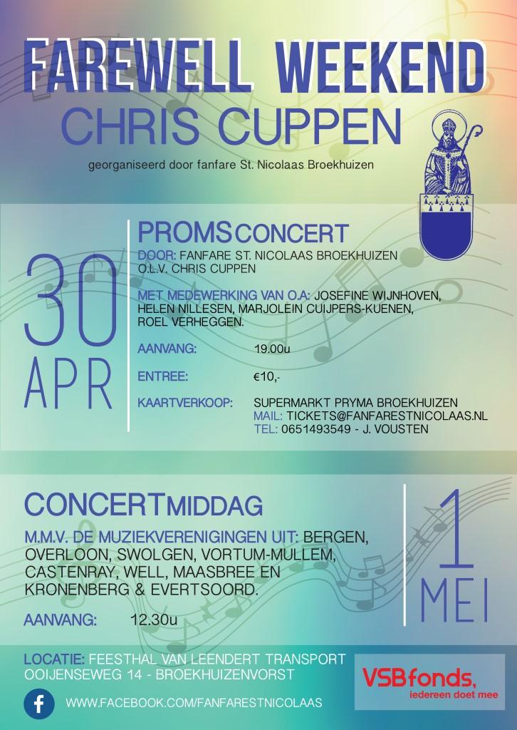 Farewell weekend Chris Cuppen