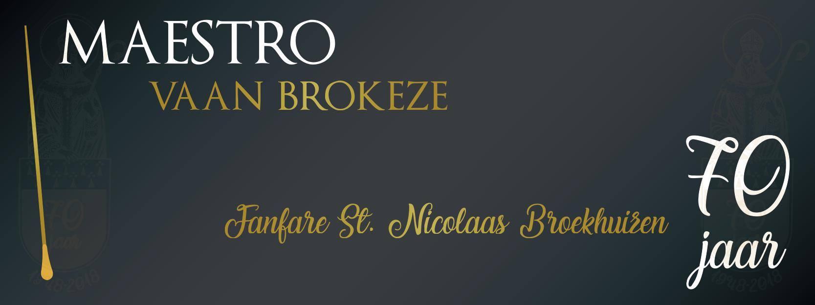 Kaartverkoop Maestro vaan Brokeze gestart!