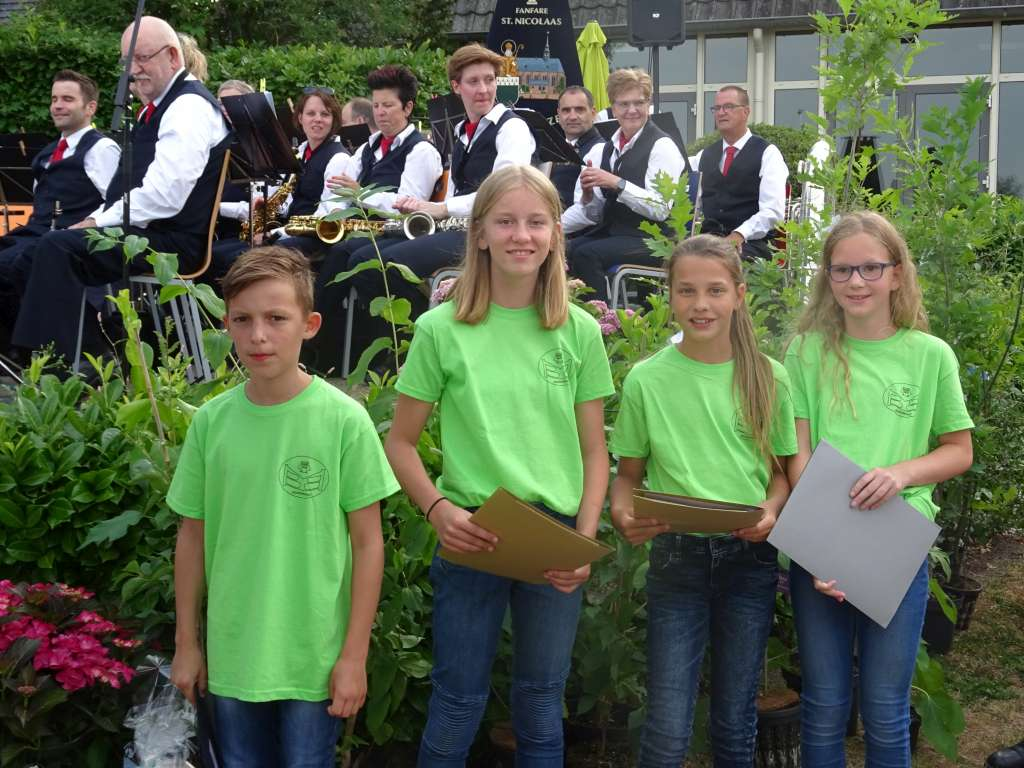 Verslag Tuinconcert samen met jeugdorkest BMBM