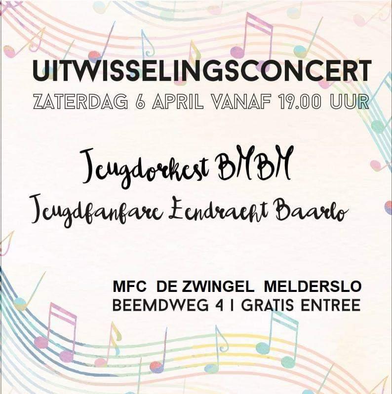 Concert jeugdorkerst BMBM