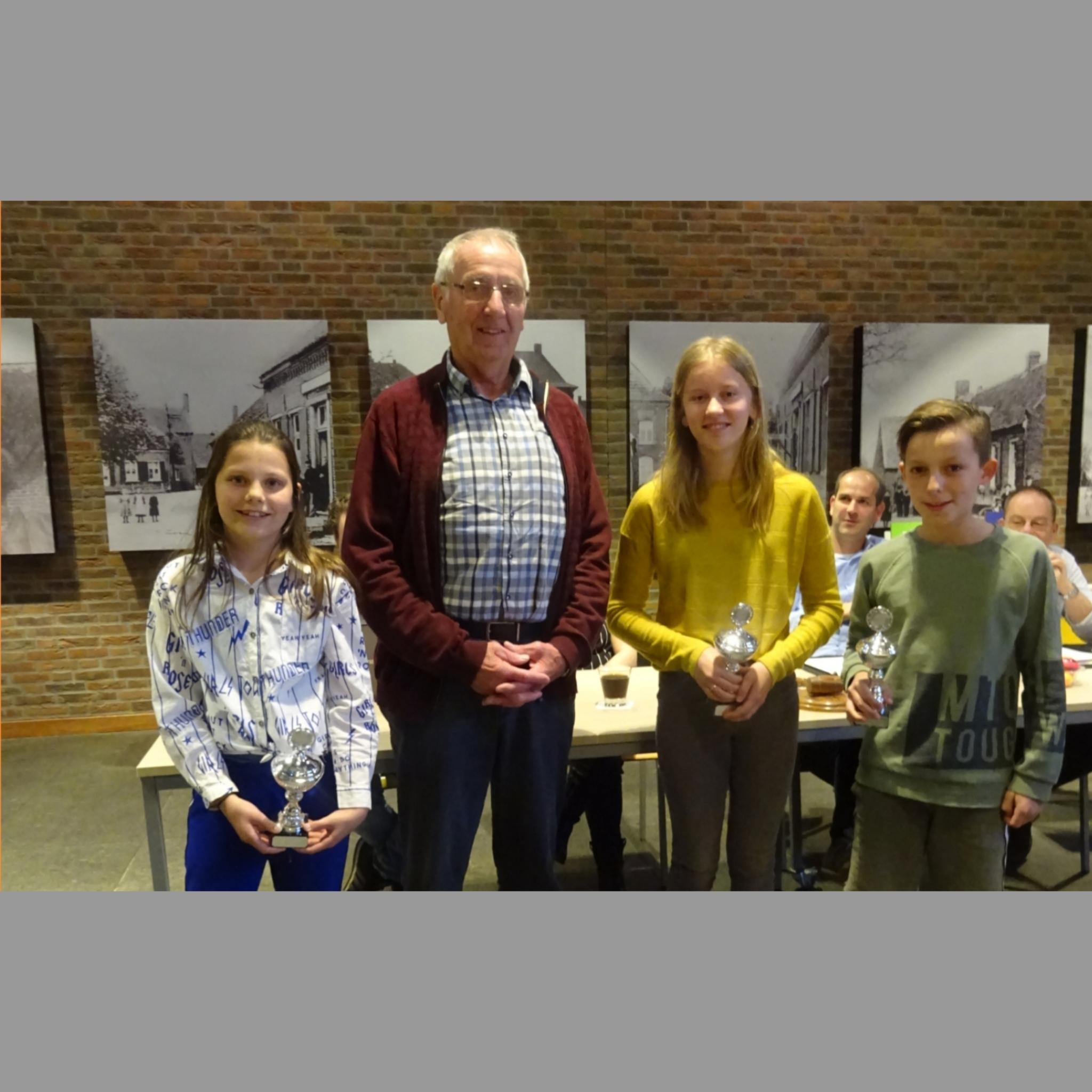 HayvanMegentrofee voor Roos, Raelyn en Loek