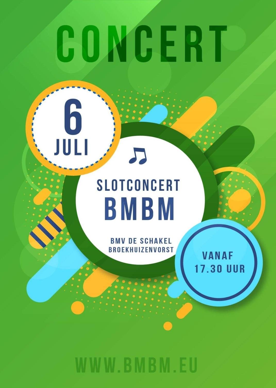 Jeugdorkest BMBM concert met dienstenveiling 6 juli 17.30 uur